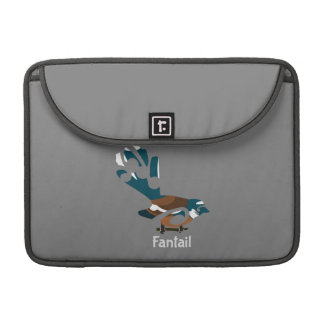 Faintail Piwakawaka MacBook Pro Sleeve