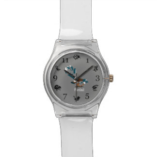Faintail Piwakawaka Wrist Watches
