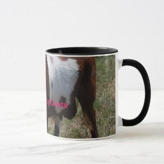 Fainting Goat coffee mug