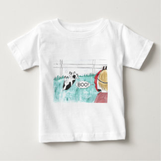 Fainting Goat Halloween Baby T-Shirt