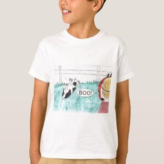 Fainting Goat Halloween T-Shirt