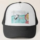 Fainting Goat Halloween Trucker Hat
