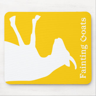 Fainting Goat Mouse Pad