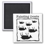 Fainting Goats Fridge Magnet