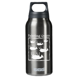 Fainting Goats Insulated Water Bottle