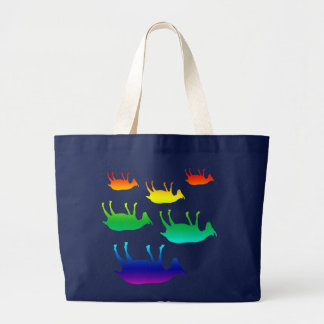Fainting Goats Large Tote Bag