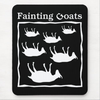 Fainting Goats Mouse Pad