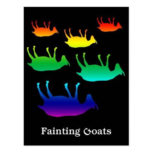 Fainting Goats Postcard | Zazzle