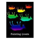Fainting Goats Postcards