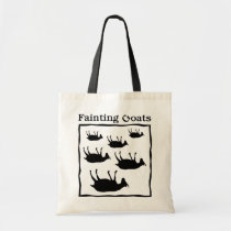 Fainting Goats Tote Bag