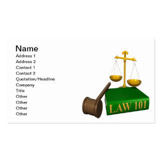 Fair And Balanced Business Card