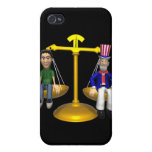 Fair And Balanced iPhone 4 Cover