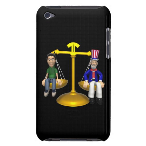 Fair And Balanced iPod Case-Mate Cases