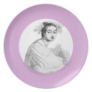 Fair Antonia Dinner Plate