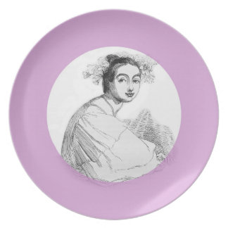 Fair Antonia Plate