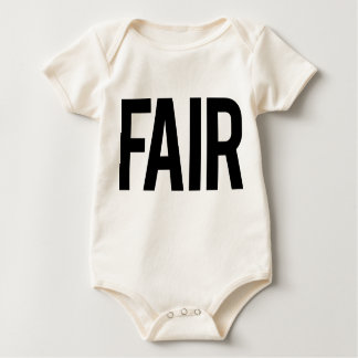 Fair Baby (White) Rompers
