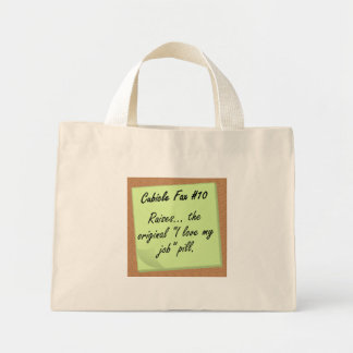 Fair Compensation Mini Tote Bag