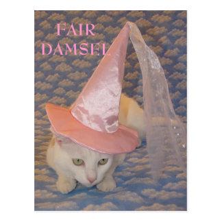 FAIR DAMSEL MISSY POST CARDS