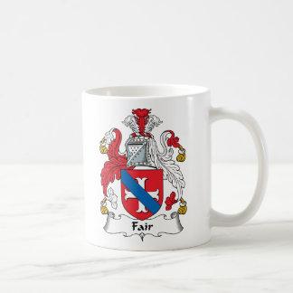 Fair Family Crest Classic White Coffee Mug