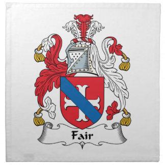 Fair Family Crest Cloth Napkin