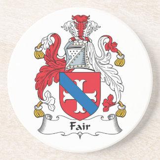 Fair Family Crest Coaster