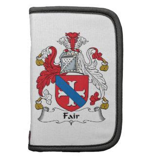 Fair Family Crest Folio Planners