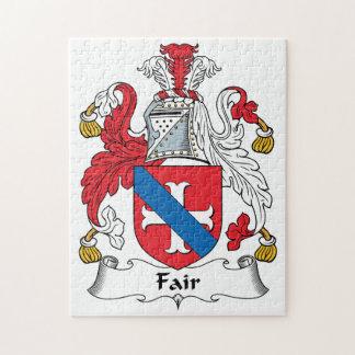 Fair Family Crest Jigsaw Puzzles