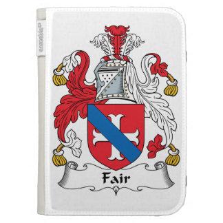 Fair Family Crest Kindle Folio Case
