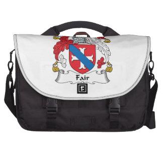 Fair Family Crest Laptop Bags