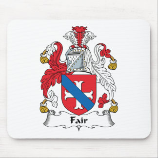 Fair Family Crest Mouse Pad