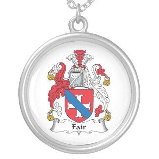 Fair Family Crest Necklaces