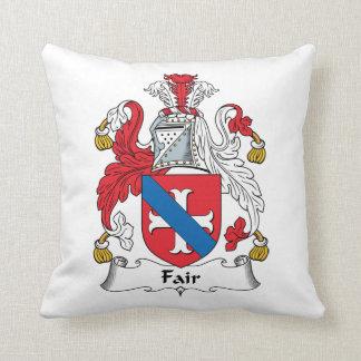 Fair Family Crest Pillow