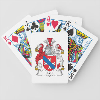 Fair Family Crest Playing Cards