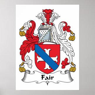 Fair Family Crest Poster