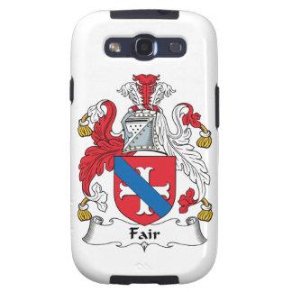 Fair Family Crest Samsung Galaxy S3 Covers