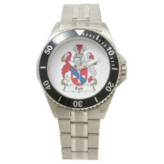 Fair Family Crest Wristwatches