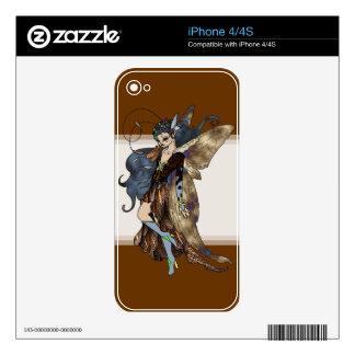 Fair Folk: Sage Decal For The iPhone 4S
