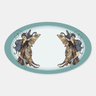 Fair Folk: Sage Oval Sticker
