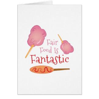 Fair Food Card