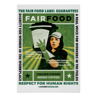 Fair Food Poster - Large