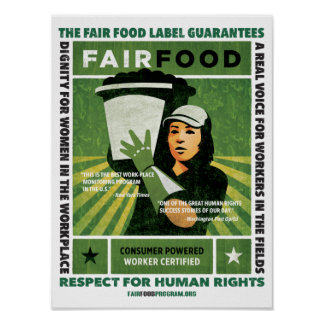 Fair Food Poster - Small