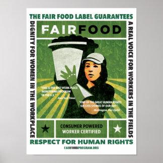 Fair Food Poster - Small