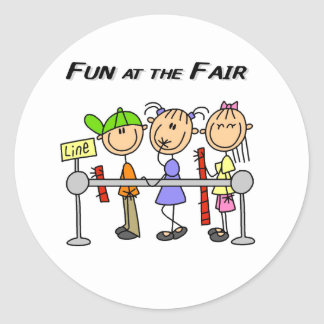Fair Fun Classic Round Sticker