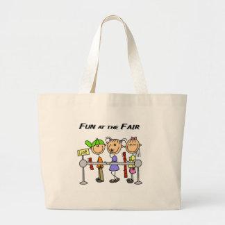 Fair Fun Jumbo Tote Bag