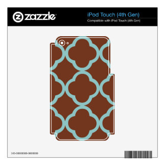 Fair Gregarious Perfect Moving iPod Touch 4G Skin