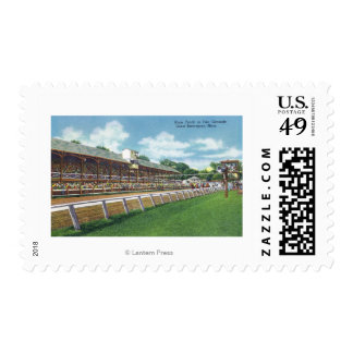 Fair Grounds Race Track View Postage