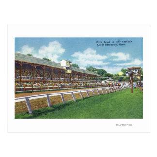 Fair Grounds Race Track View Postcard