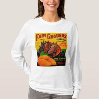 Fair Grounds Yam LabelBreaux Bridge, LA T-Shirt