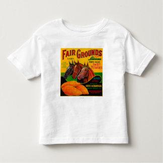 Fair Grounds Yam LabelBreaux Bridge, LA Toddler T-shirt