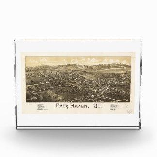 Fair Haven Vermont (1886) Acrylic Award